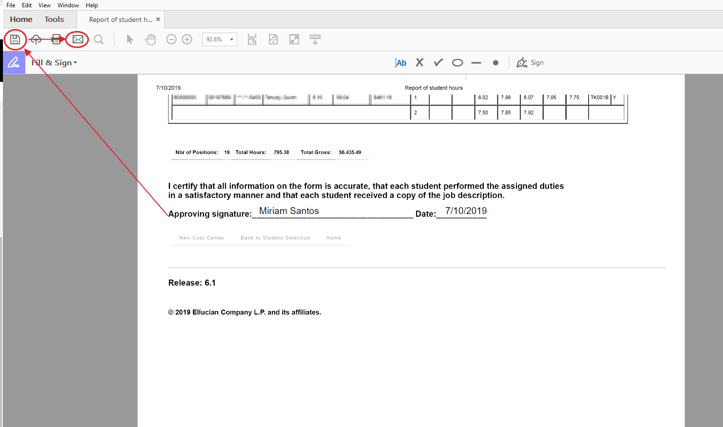 Payroll Office: Electronic Signature for Timesheets - IT